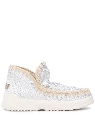 Mou Eskimo Sequinned Ankle Boots 60