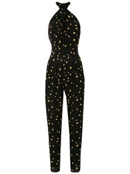 Andrea Marques Halterneck Printed Jumpsuit 60