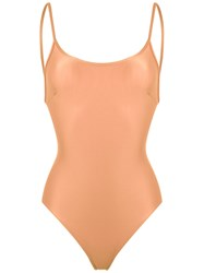 Haight Scoop Back Swimsuit Nude Neutrals