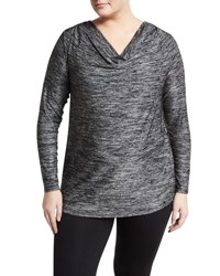 Marc Ny Performance Plus Cowl Neck Tunic Black