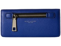 Marc Jacobs Gotham Open Face Wallet Cobalt Blue Wallet Handbags