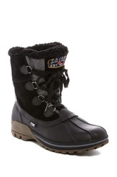 Pajar Barret Faux Shearling Lined Snow Boot Black