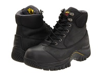 Dr. Martens Work Heath St 7 Tie Boot Black Industrial Greasy Men's Work Lace Up Boots Gray