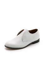 Hudson Charlie May Oxfords White