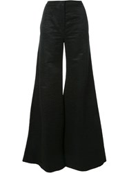 Gareth Pugh Flared Trousers Black