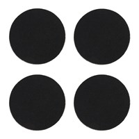 Amara Rosemont Coasters Set Of 4 Coal Black
