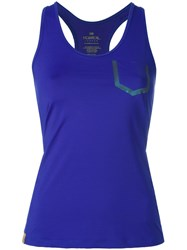 Monreal London 'Essential' Tank Top Blue