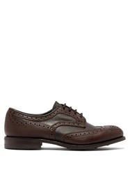 Tricker's Bowood Leather Brogues Brown