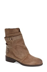 Women's Fergie 'Neptune' Moto Boot Taupe Leather