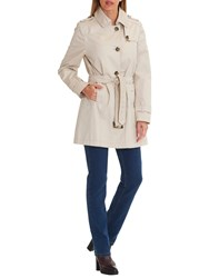 Betty Barclay Belted Trench Coat Silky Beige