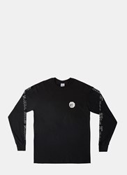 Nts X Ln Cc Long Sleeved Crew Neck T Shirt Black