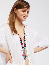 Raga Full Of Life Pom Pom Pendant By At Free People