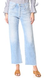 Citizens Of Humanity Parker Relaxed Cuffed Crop Jeans Cascade