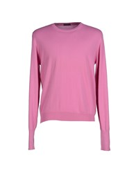 Ballantyne Knitwear Jumpers Men Light Purple
