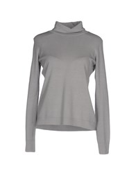 Brebis Noir Turtlenecks Light Grey