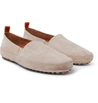 Mulo Suede Loafers Stone