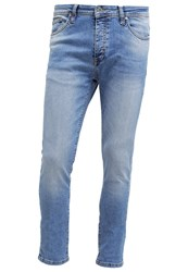 Pier One Slim Fit Jeans Light Blue Denim