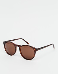 A. J. Morgan Aj Morgan Round Sunglasses Tort
