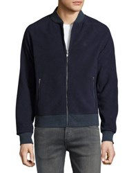 Original Penguin Long Sleeve Polar Fleece Jacket Dark Blue