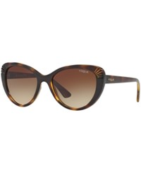 Vogue Eyewear Sunglasses Vo5050s Tortoise Brown Gradient