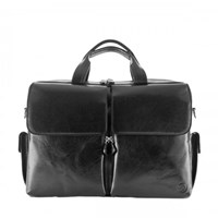 Maxwell Scott Bags Black Best Leather Briefcase