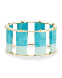 Lele Sadoughi Tall Stackable Bangle Blue