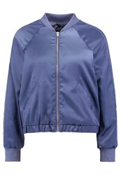 Abercrombie And Fitch Bomber Jacket Vintage Indigo Pantine Bordeaux