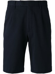 Closed Classic Chino Shorts Men Cotton 34 Blue