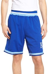 Mitchell And Ness Men's Playoff Win Kansas City Royals Mesh Warm Up Shorts