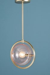 Anthropologie Amille Pendant Pink