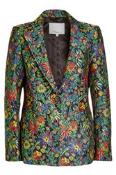 3.1 Phillip Lim Embroidered Blazer With Silk