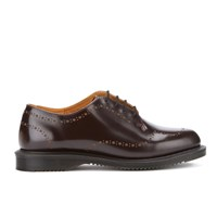 Dr. Martens Women's Charlotte Arcadia Etched Brogues Cherry Red