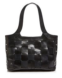 Etienne Aigner Jerry Woven Tote Black