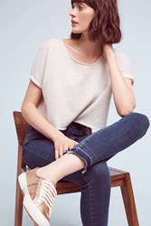 Anthropologie Paige Hoxton High Rise Ankle Jeans Denim Medium Blue