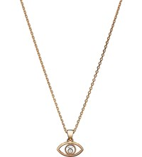 Chopard Happy Diamonds Icons 18Ct Rose Gold And Diamond Pendant
