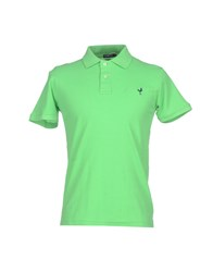 U Ni Ty Unity Topwear Polo Shirts Men Green