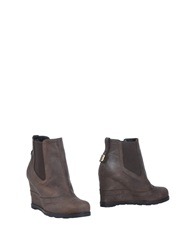 Dirk Bikkembergs Ankle Boots Dark Brown