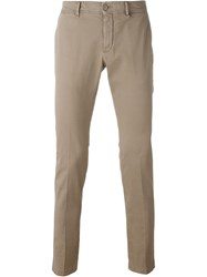 Moncler Classic Chinos Nude And Neutrals