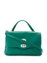 Zanellato Small Postina Tote Bag Green