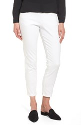 Jag Jeans 'S Amelia Slim Ankle White