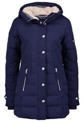 True Religion Down Coat Blau Dark Blue