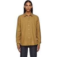 Paul Smith Ps By Tan Tailored Shirt