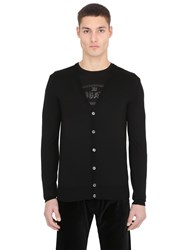 Ettore Bugatti Collection Cotton V Neck Cardigan