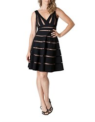 Js Collections Cutout Dress Black Sand