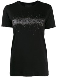 John Richmond Studded Logo T Shirt Black