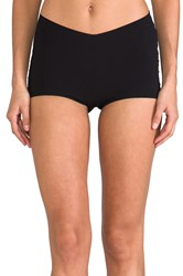 Yummie Tummie Lily Cheekie Boy Shorts Black