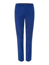 Label Lab Rutherford Plain Extra Slim Suit Trousers Blue