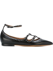 Givenchy Studded Strappy Ballerinas Black