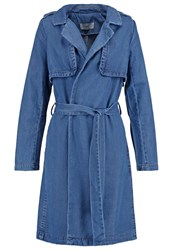 New Look Trenchcoat Blue
