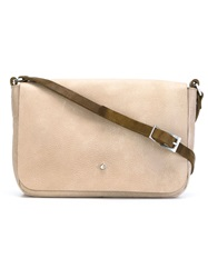 Ally Capellino 'Isabelle' Cross Body Bag Nude And Neutrals